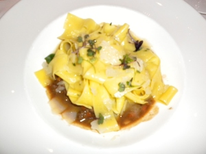 Pappardelle with rabbit ragu