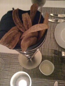 plantains 'bread' basket
