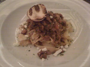 veal cheek bolognese