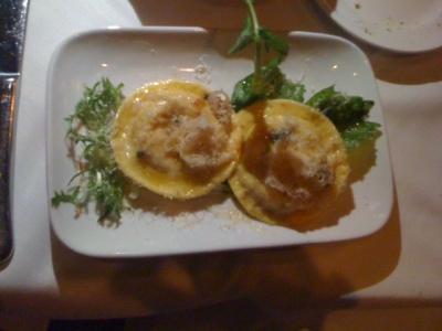 squash ravioli