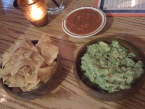 chips, salsa, guac