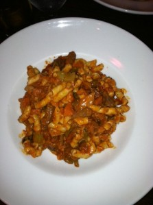 """tuscan"" bolognese"