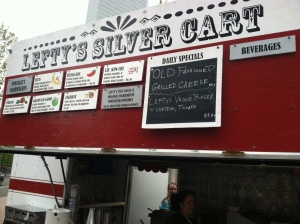 Lefty's Silver Cart