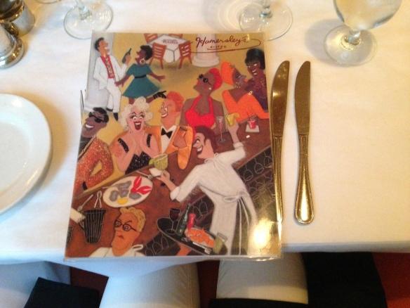 Hamersley's Bistro menu